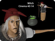 Old Witch 3d model