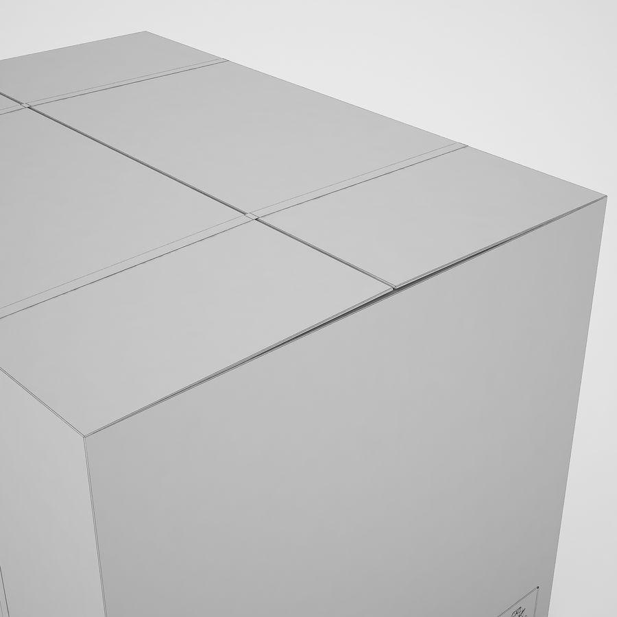 Boîte en carton 01 royalty-free 3d model - Preview no. 17