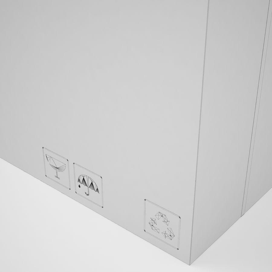 Boîte en carton 01 royalty-free 3d model - Preview no. 19