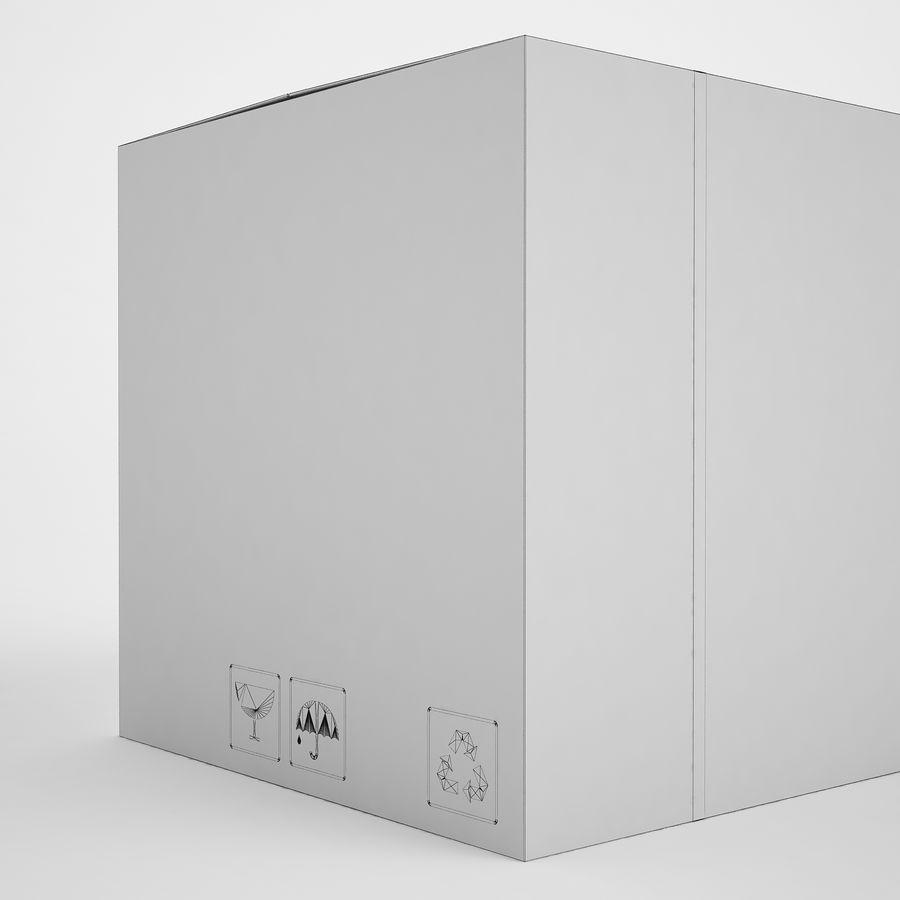 Boîte en carton 01 royalty-free 3d model - Preview no. 15