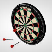 Dart tahtası 3d model
