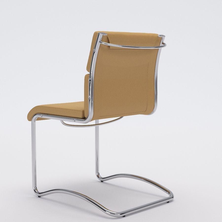 办公椅1-1 royalty-free 3d model - Preview no. 4