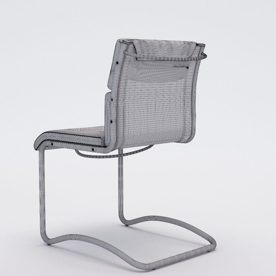 办公椅1-1 royalty-free 3d model - Preview no. 6