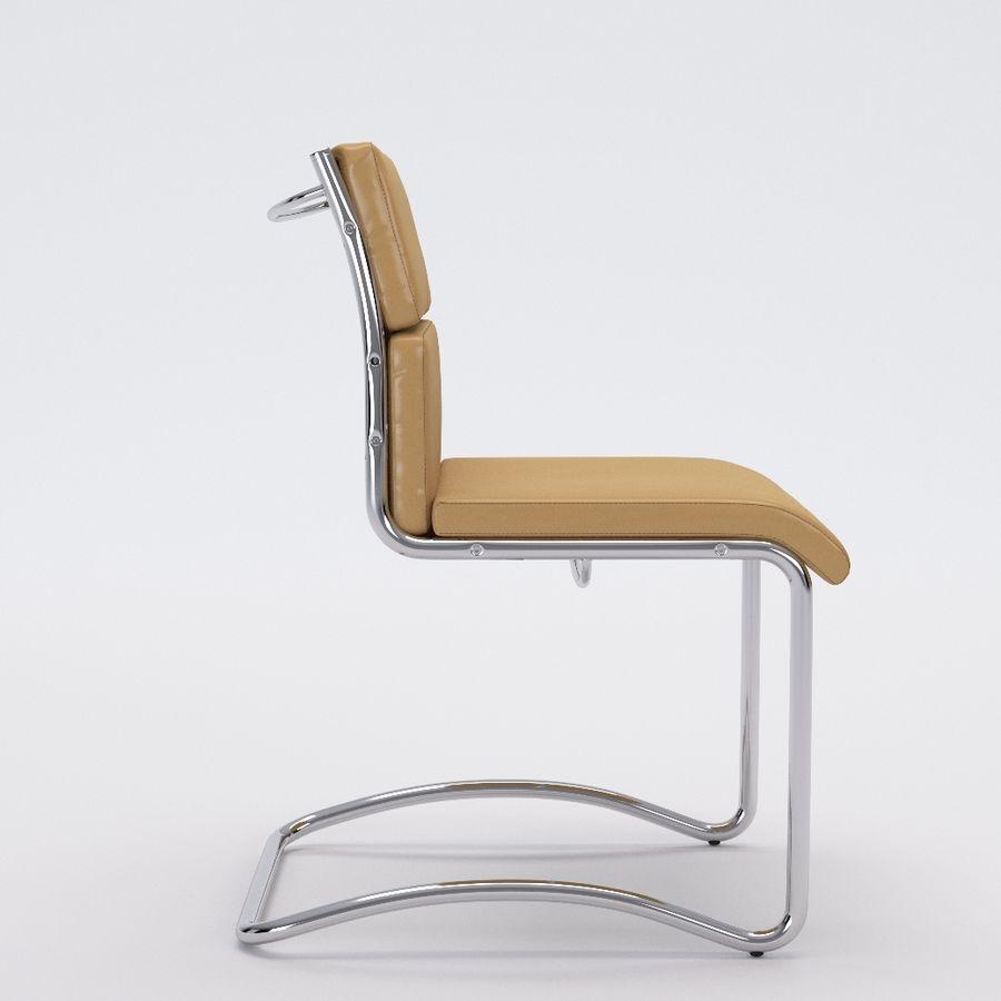 办公椅1-1 royalty-free 3d model - Preview no. 3