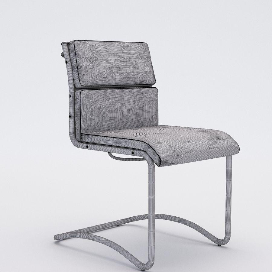 办公椅1-1 royalty-free 3d model - Preview no. 5