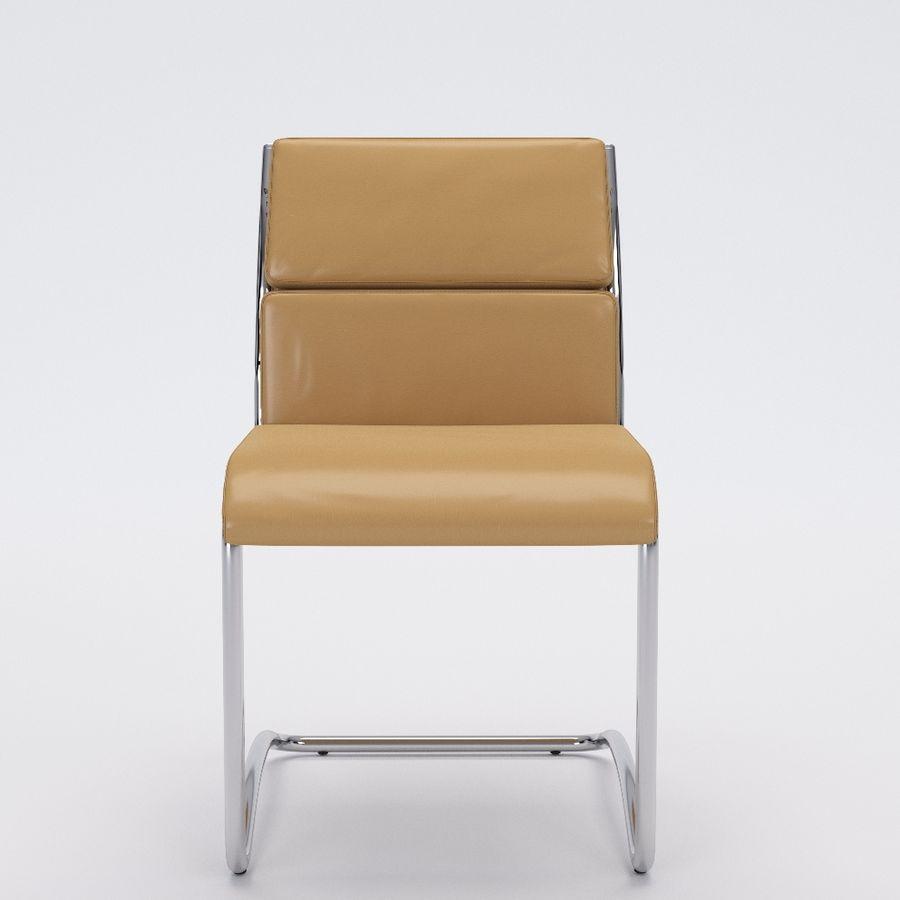 办公椅1-1 royalty-free 3d model - Preview no. 1