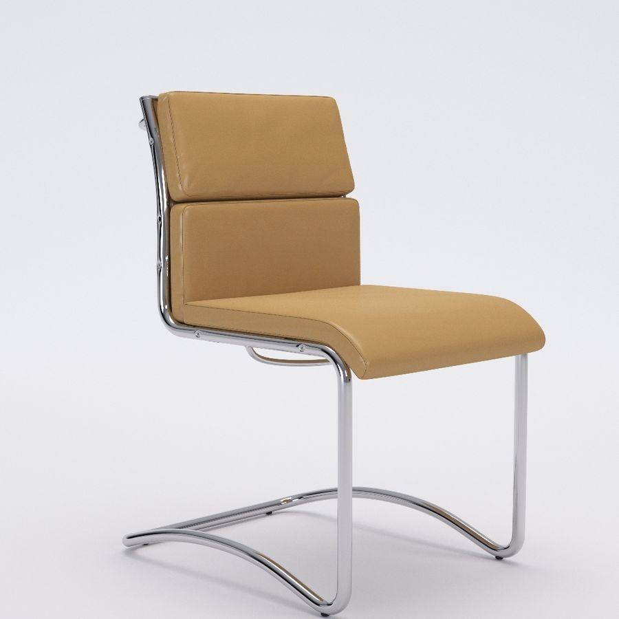 办公椅1-1 royalty-free 3d model - Preview no. 2