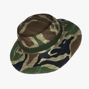 Military Boonie Hat 01 3d model