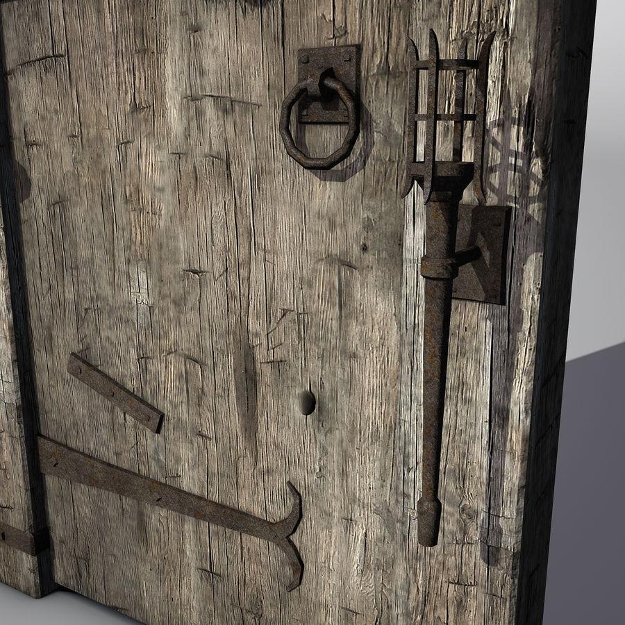 Średniowieczny zestaw sprzętu Low Poly royalty-free 3d model - Preview no. 12