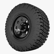 ADAK Trailer Wheel 3d model