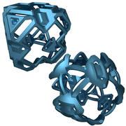 Abstrakcyjny kształt 3d model