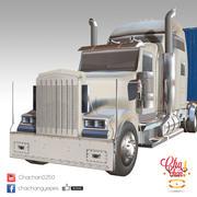 卡车拖车 3d model
