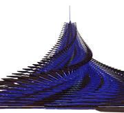 Geometri estrella de nieve 2 modelo 3d
