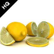 Zitrone 3d model