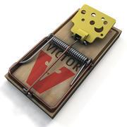 Mousetrap Victor 3d model