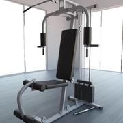 GYM Multi-Gym Utrustning 3d model