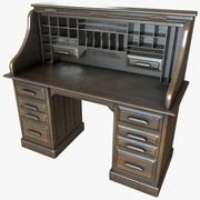 Antik skrivbord 3d model