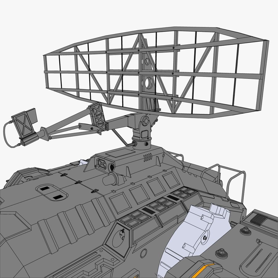 Sci-Fi Weapon Collection royalty-free 3d model - Preview no. 8