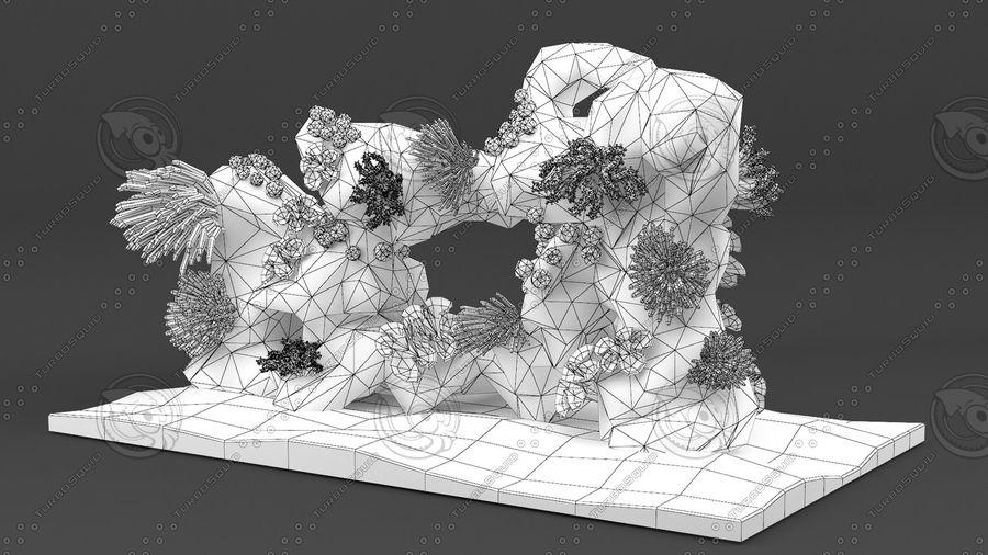 - koraalrif - opgetuigd en geanimeerd royalty-free 3d model - Preview no. 13