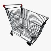 Grocery Buggy 3d model