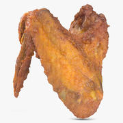 Crispy Chicken Wing 3d model
