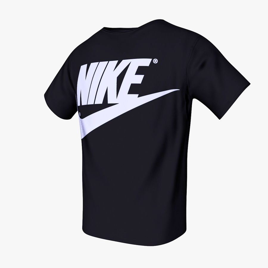 Camiseta de nike royalty-free modelo 3d - Preview no. 1