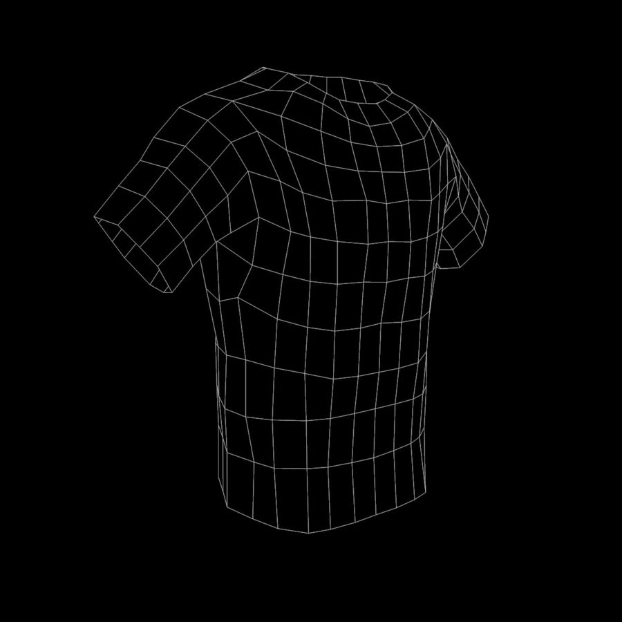 Camiseta de nike royalty-free modelo 3d - Preview no. 11