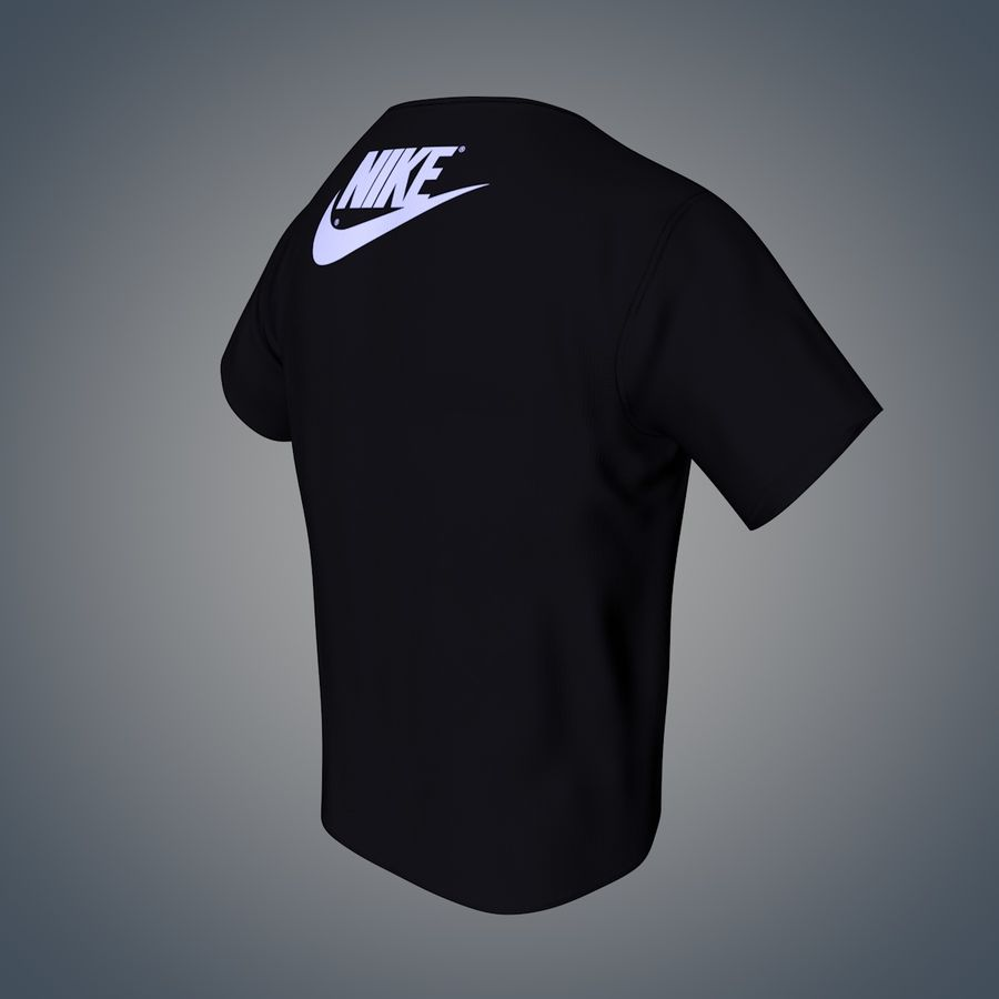 Camiseta de nike royalty-free modelo 3d - Preview no. 5