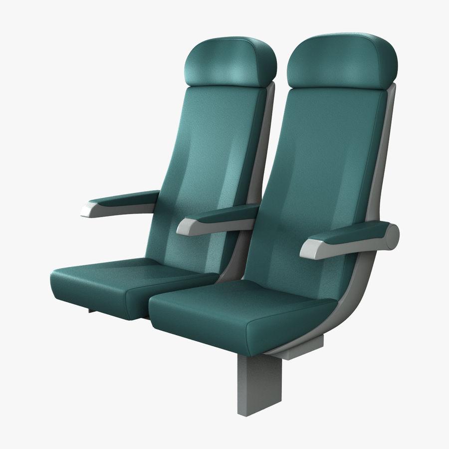 Train Seat 3D Model $29 -  unknown  ma  obj  fbx - Free3D