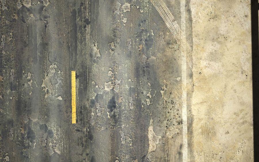 Damaged Road V2 royalty-free 3d model - Preview no. 23