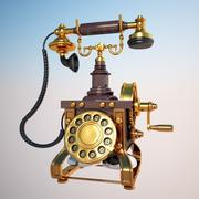 Antique Telephone 3d model