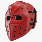 曲棍球面具 3d model