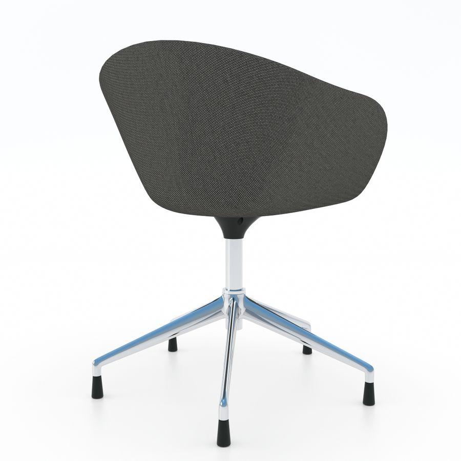 Astonishing Arper Duna 5 Ways Chair 3D Model 29 Max Obj Fbx Free3D Machost Co Dining Chair Design Ideas Machostcouk