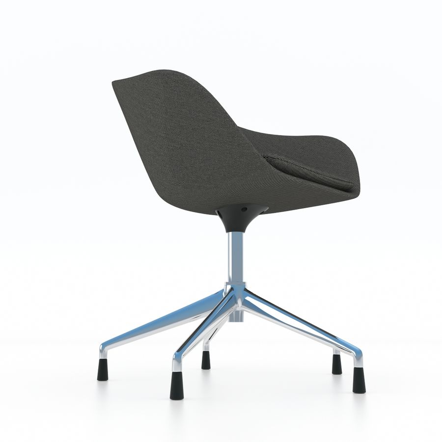 Stupendous Arper Duna 5 Ways Chair 3D Model 29 Max Obj Fbx Free3D Machost Co Dining Chair Design Ideas Machostcouk