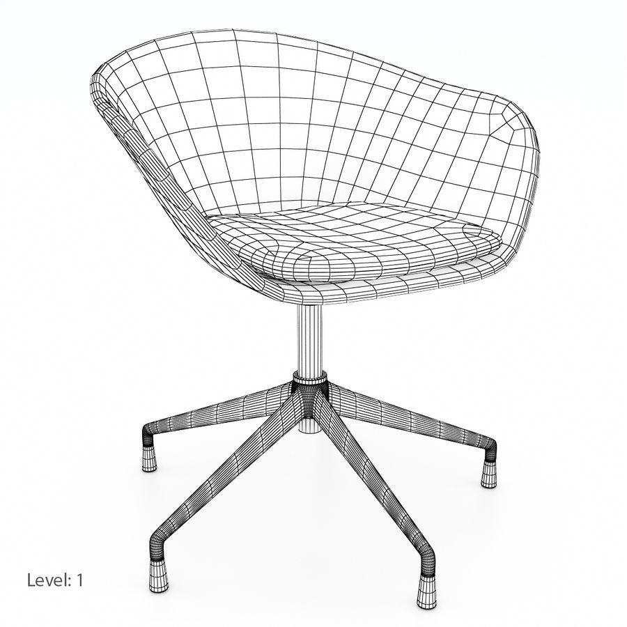 Super Arper Duna 5 Ways Chair 3D Model 29 Max Obj Fbx Free3D Machost Co Dining Chair Design Ideas Machostcouk