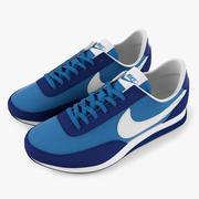 Nike Trainer Blue 3d model