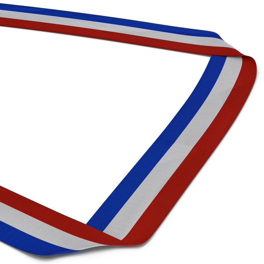 Nagroda Medal Złoty royalty-free 3d model - Preview no. 8