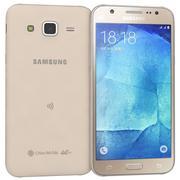 Samsung Galaxy J5 Gold modelo 3d