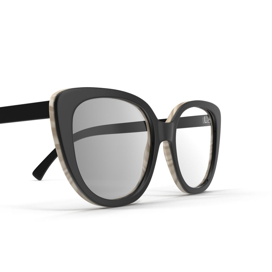 Glasses Collection royalty-free 3d model - Preview no. 13