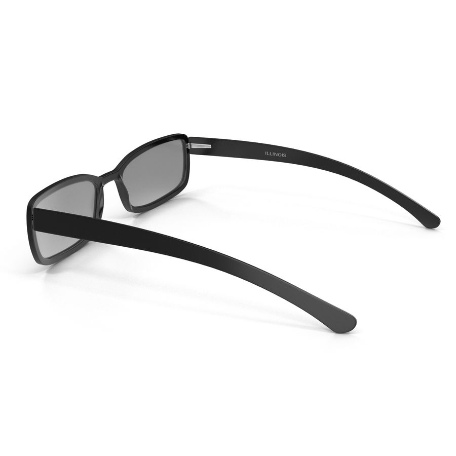 Glasses Collection royalty-free 3d model - Preview no. 21