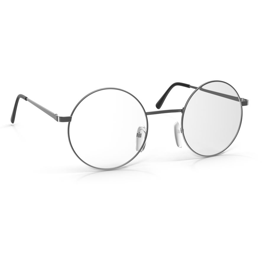 Glasses Collection royalty-free 3d model - Preview no. 36