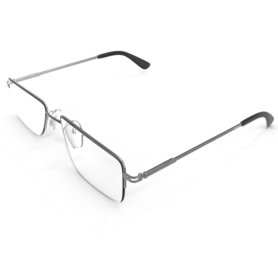 Glasses Collection royalty-free 3d model - Preview no. 32