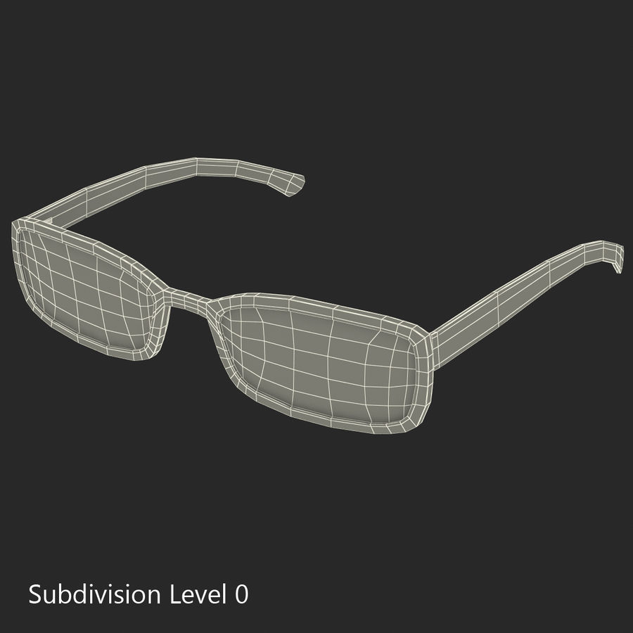 Glasses Collection royalty-free 3d model - Preview no. 50