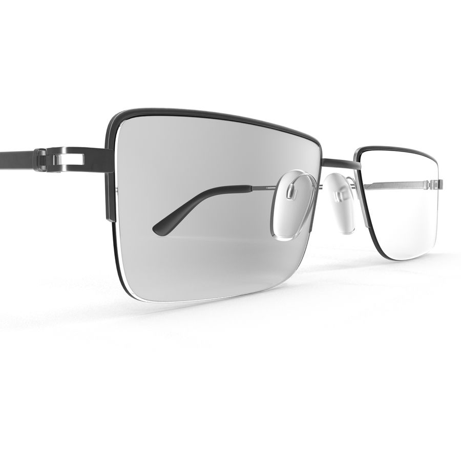 Glasses Collection royalty-free 3d model - Preview no. 33
