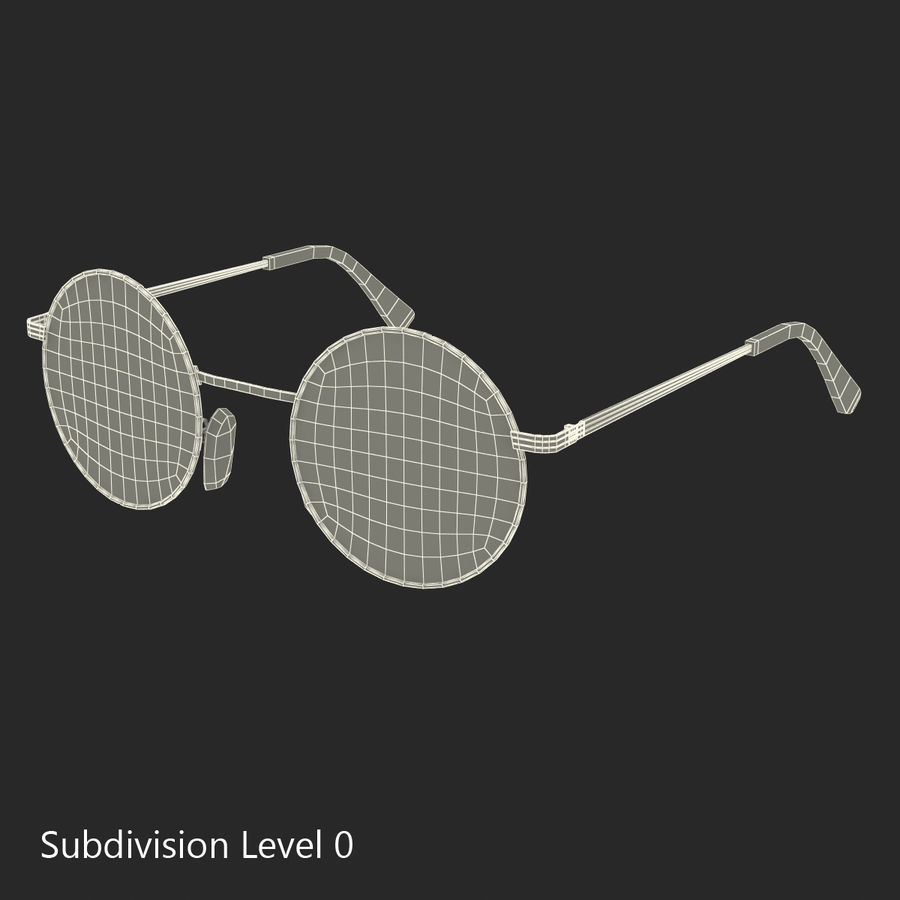 Glasses Collection royalty-free 3d model - Preview no. 48