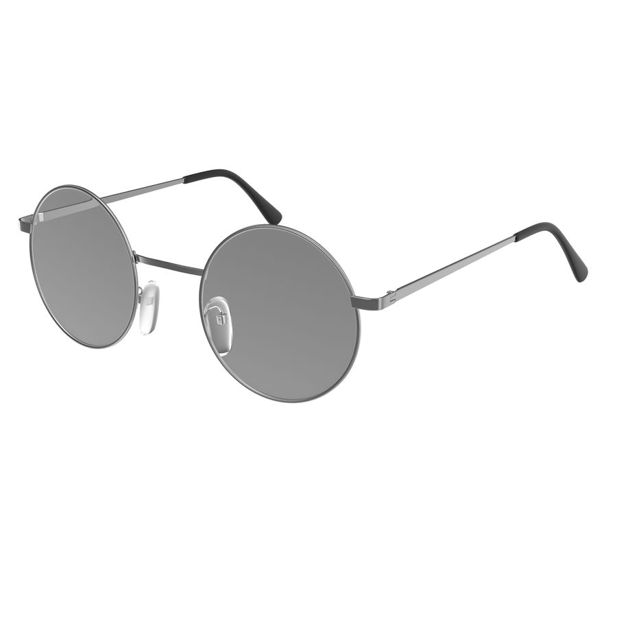 Glasses Collection royalty-free 3d model - Preview no. 40