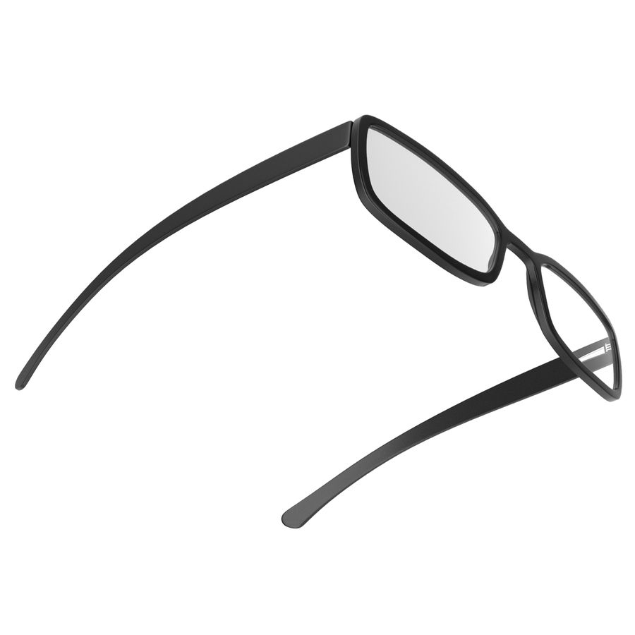 Glasses Collection royalty-free 3d model - Preview no. 24