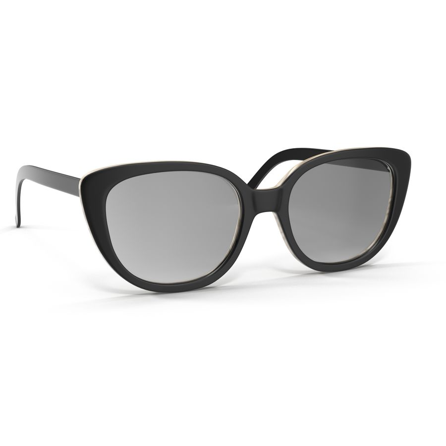 Glasses Collection royalty-free 3d model - Preview no. 7