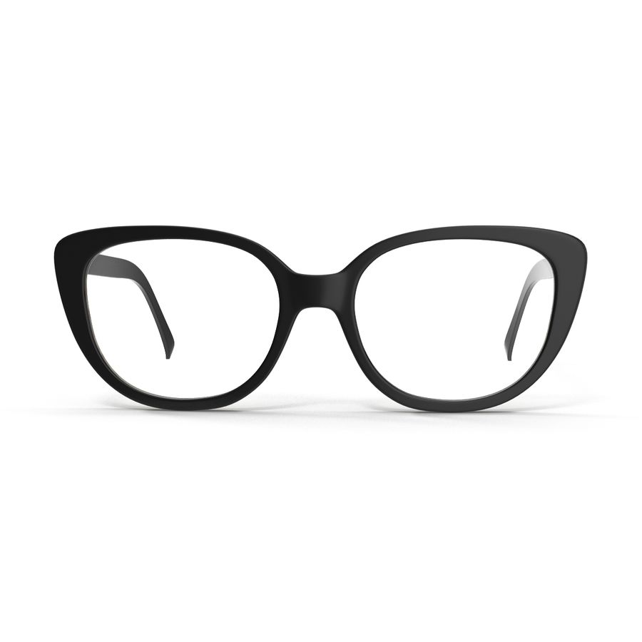 Glasses Collection royalty-free 3d model - Preview no. 8