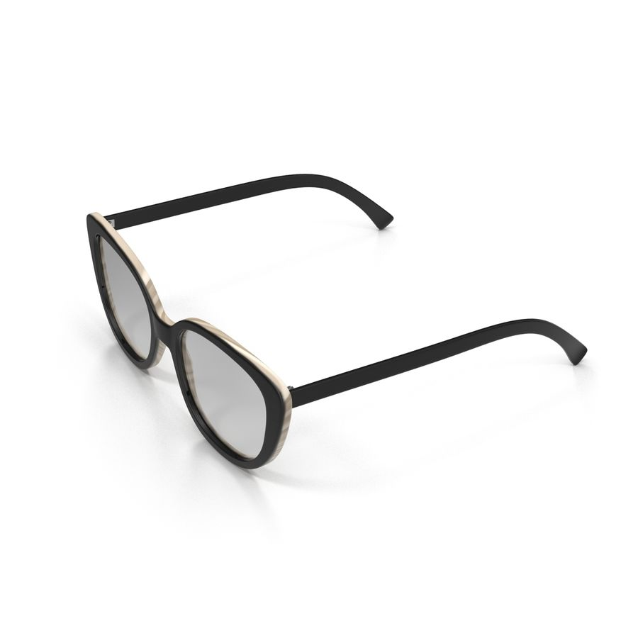 Glasses Collection royalty-free 3d model - Preview no. 11